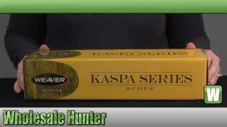 Weaver Kaspa Series 1-4x24mm Dual-X Reticle 30mm Tube Rifle Scope mfg# 849849