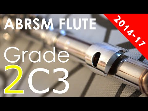 ABRSM Flute Exam Pieces Grade 2 C3 Study in D No.69  Schule Für die Böhm-Flöte, Op. 7  Emil Prill