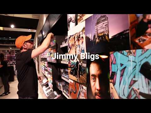 Jimmy Bligs at Ironlak Art & Design Sydney
