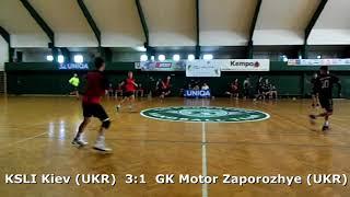 Handball. U17 boys. Sarius cup 2017. KSLI Kiev (UKR) - GK Motor Zaporozhye (UKR) - 12:9 (1st half)