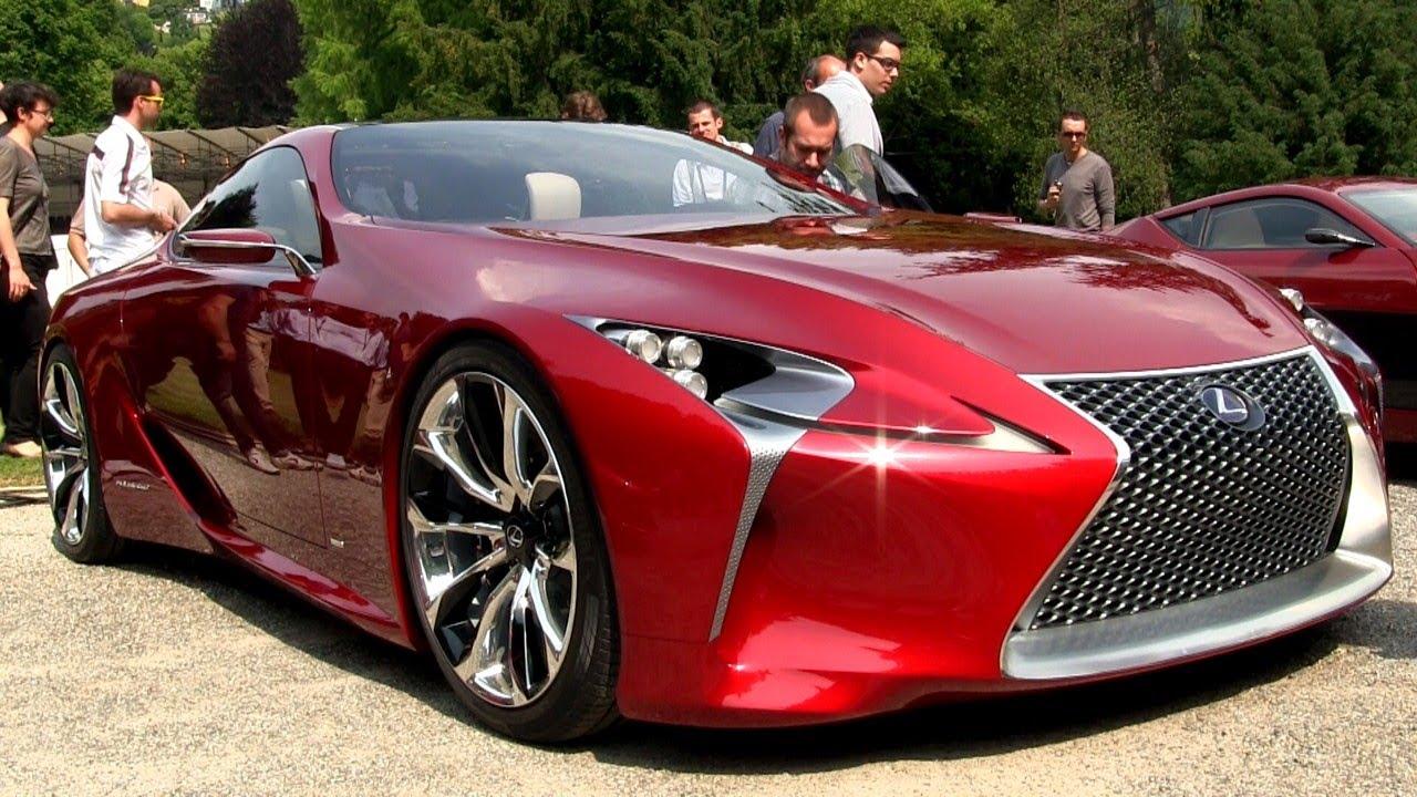 Lexus LF-LC Concept Car - Concorso d\'Eleganza 2012 - YouTube