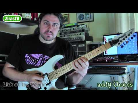 Learn Add9 Chords (and How To Use Them)   Lick Of The Week 74