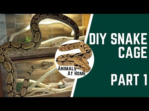 DIY Snake Cage : 12 Steps (with Pictures)