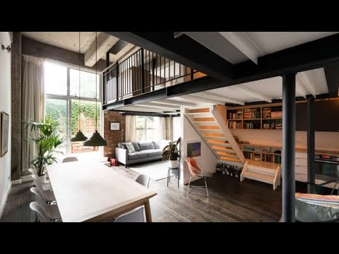 🍍 Interior Design | The Modern Home: Industrial Loft In London
