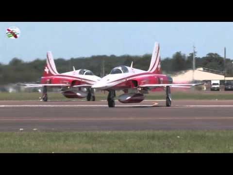 Fairford Arrivals 2014 Part 2 Not With ATC Radio Airshow World
