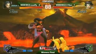 bushido impact paris 2012 winner final luffy rose vs vryu makoto