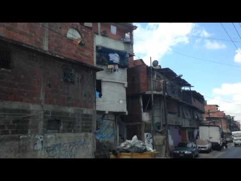 Petare, Caracas, Venezuela - The largest slums in South America