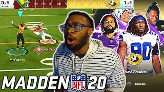 THIS MIGHT BE MY FAVORITE MADDEN GAME MODE OF ALL TIME! Madden 20 Superstar KO Gameplay