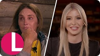 Sophia Hutchins Was Ready to Fly in and Rescue Caitlyn Jenner After I'm a Celeb Breakdown | Lorraine