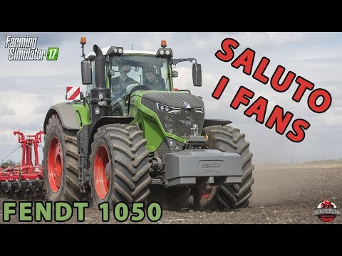 SALUTO I FANS SOPRA UN FENDT 1050 | ALEX FARMER