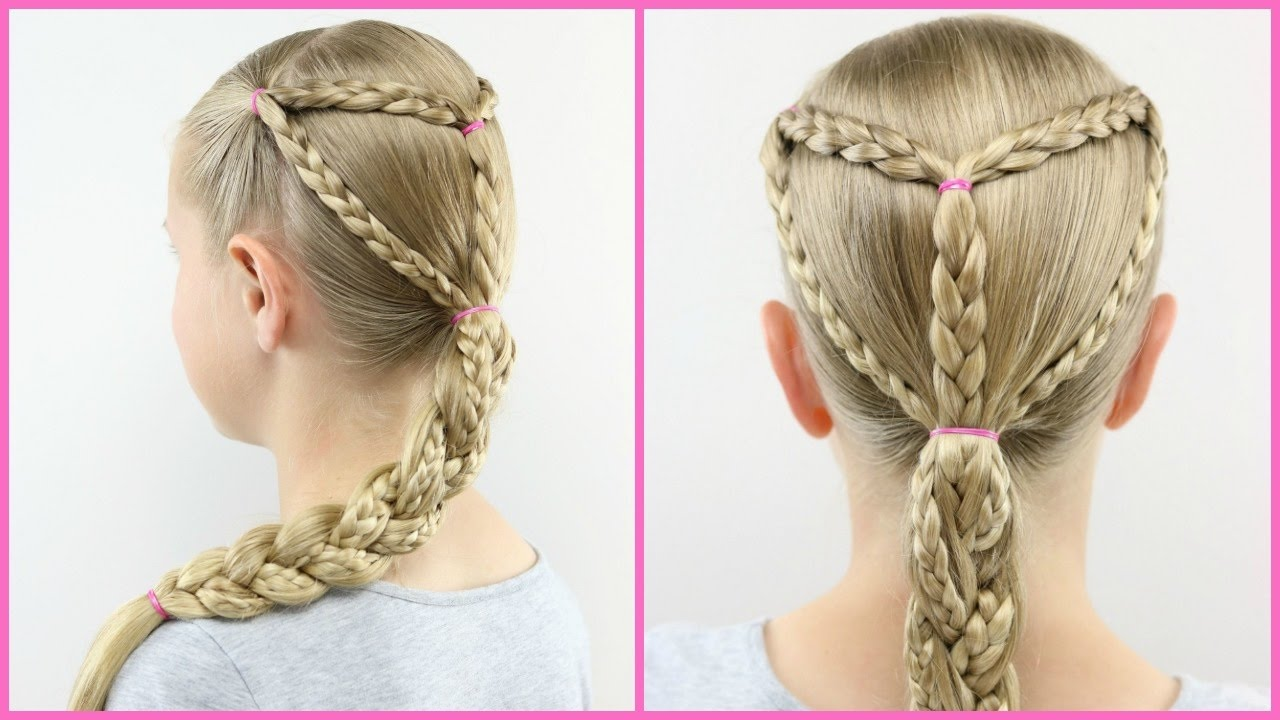 summer and sports braided hairstyle for all your outdoor