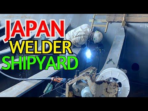 JAPAN WELDER SHIPYARD 4K