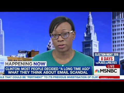 Awkward: MSNBC anchor insists Nina Turner said she supports Clinton, she tells him to roll the tape