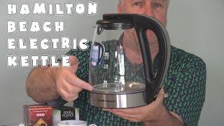 Hamilton Beach Electric Kettle Review | EpicReviewsHome in 4k