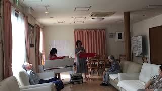 2017/10/2 mon. グループホームM(茨城県つくば市) ocarina:Kana pian...