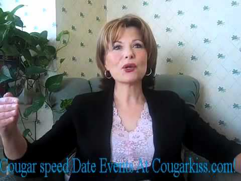 Cougar speed dating