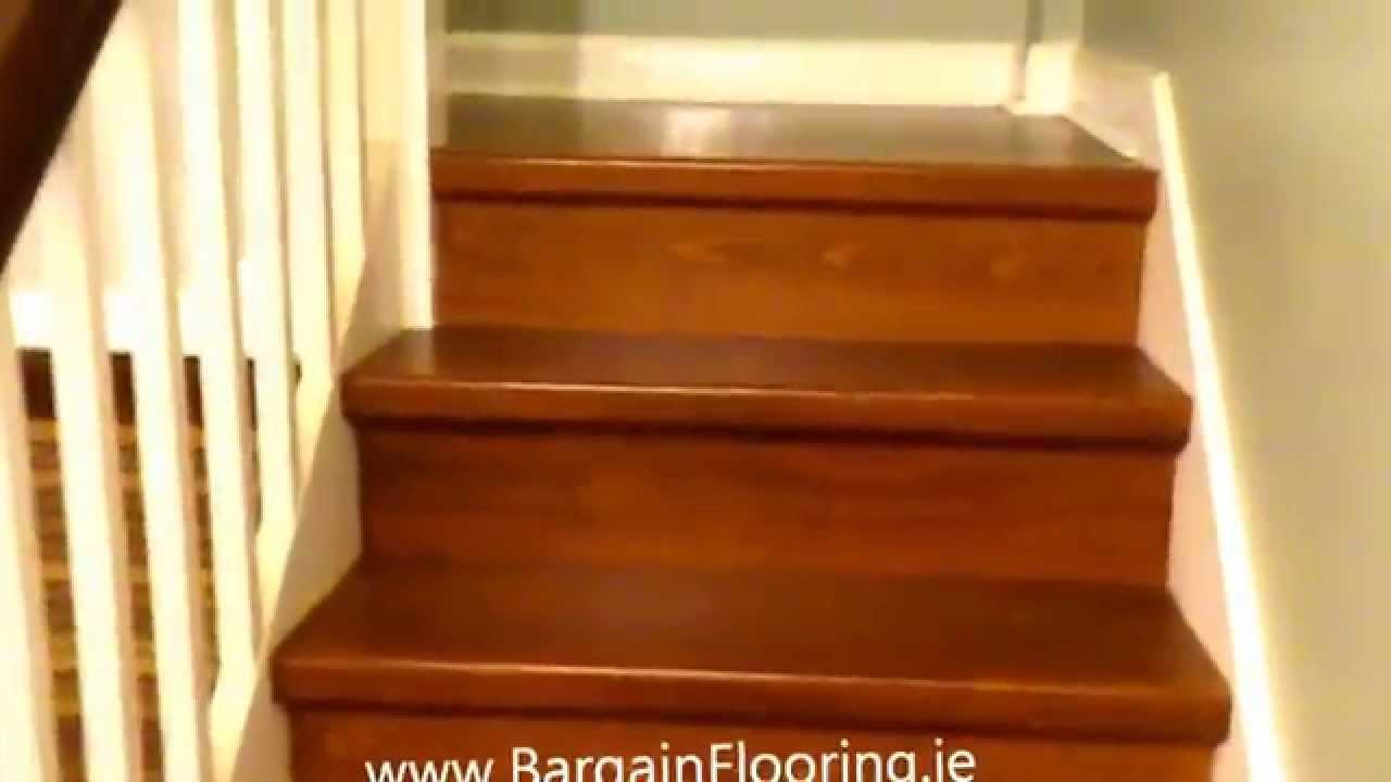 Laminate Stairs wwwBargainFlooringie  How To Install