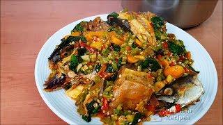 Nigerian Okra Soup for Nlacha ? | Flo Chinyere