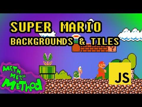 Code Super Mario In JS (Ep 1) - Backgrounds & Tiles