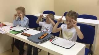 Урок ментальной арифметики у детей 5 лет.