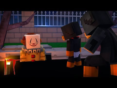 Minecraft - IT THE CLOWN - THE BABIES ARE LOCKED IN THE SEWERS