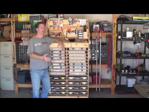 Fun with Robotics - EP 2: - Shop organization, organize screws and small parts, DIY Sortimo