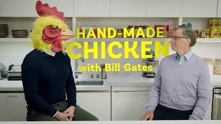 How to make BBQ chicken with Bill Gates