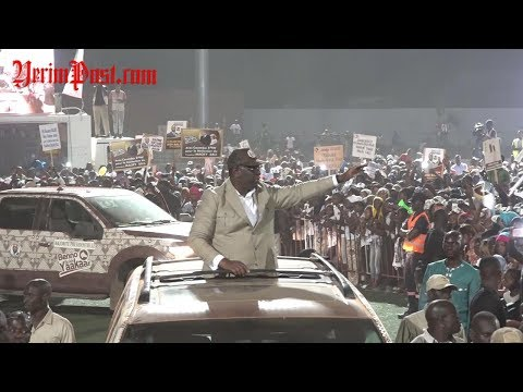 Vidéo: Ambiance et accueil grandiose de Macky Sall à Kolda