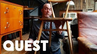 How To Repair a Chair - Salvage Hunters DIY Tips