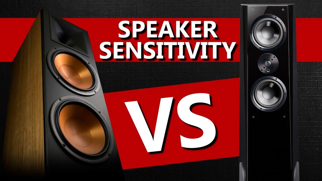 Klipsch RF-7 III vs SVS Ultra Tower - Speaker Sensitivity