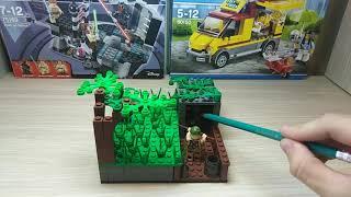 Самоделка Лего - Вторая Мировая Война!