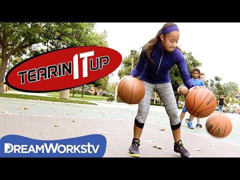 11-Year-Old Basketball Prodigy Jaden Newman's Sick Crossover | Tearin' It Up