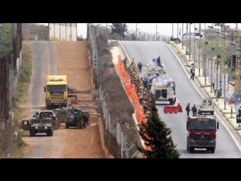 Israel Constrói Muro De Segurança Na Fronteira Com O Líbano