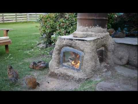 Rocket Stove Outdoor System New Front Loading Batch Burn
