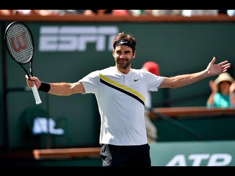 BNP Paribas Open 2018: Roger Federer Road to the Final