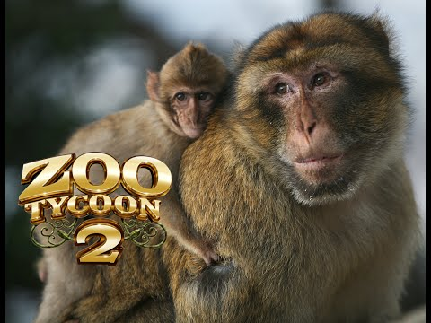 Zoo Tycoon 2 - Barbary Ape Exhibit!