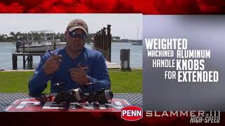 PENN Slammer III High Speed Spinning Reel