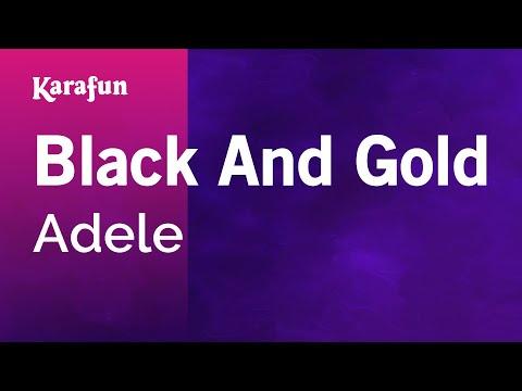 Karaoke Black And Gold - Adele *