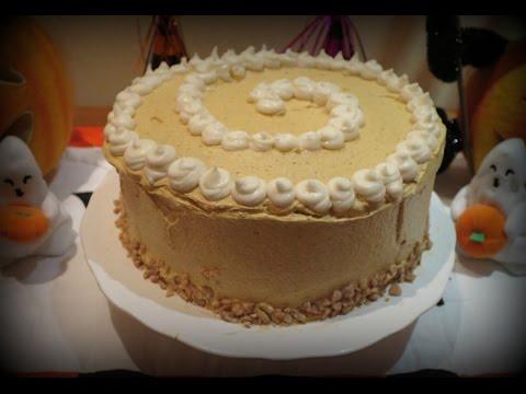 Pumpkin Chai Spice Frosting Plus Cake