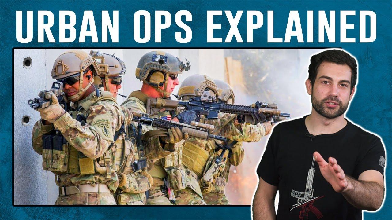 Urban Room Clearing Warfare Explained (Army Veteran)