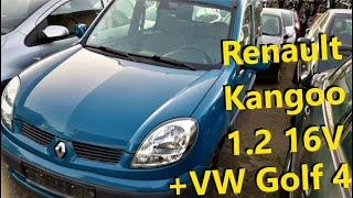 Renault Kangoo 1.2 и VW golf 4 1.6 // Авто в Германии