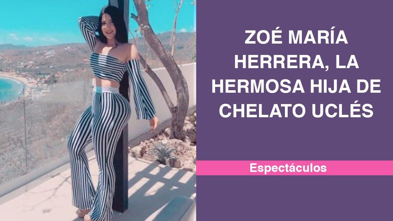Zoé María Herrera, la hermosa hija de Chelato Uclés