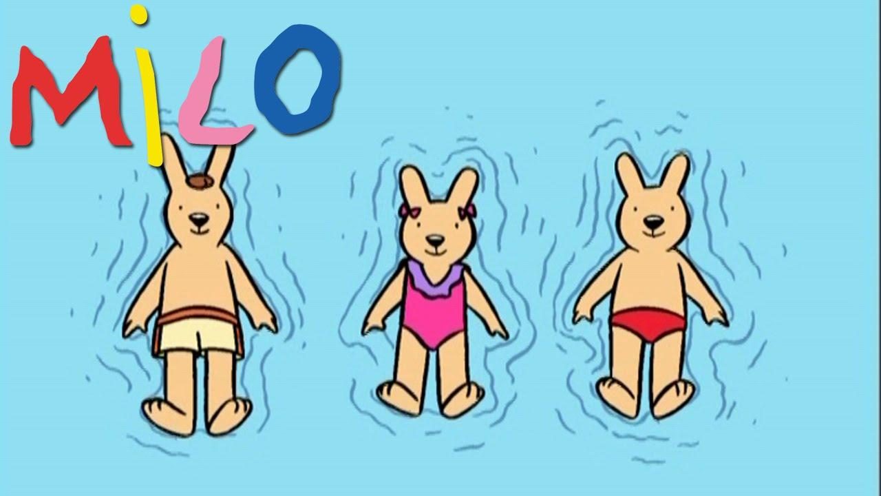 Milo milo la piscine s02ep06 dessin anim pour les for A la piscine dessin