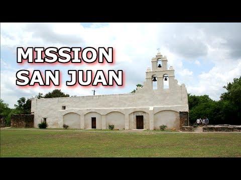 MISSION SAN JUAN CAPISTRANO - San Antonio, TX. - History Tour