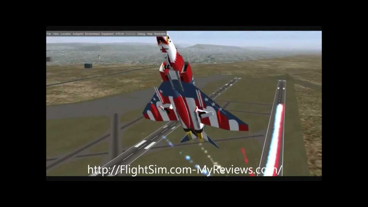 demo jouable flight simulator