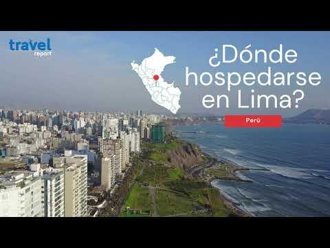 ¿Dónde hospedarse en Lima, Perú? Las mejores zonas