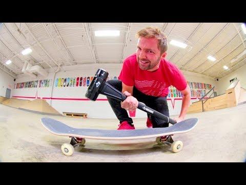 ReVive Skateboards Strength Test / SLEDGE HAMMER!