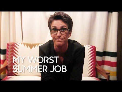 My Worst Summer Job: Rachel Maddow