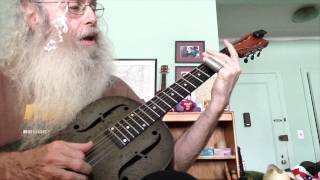 Guitar Lesson - Ramblin Blues In Open G Tuning