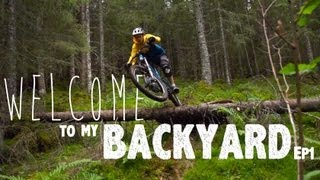 Welcome to my backyard | Ep01 | Norwegian enduro biking 2013